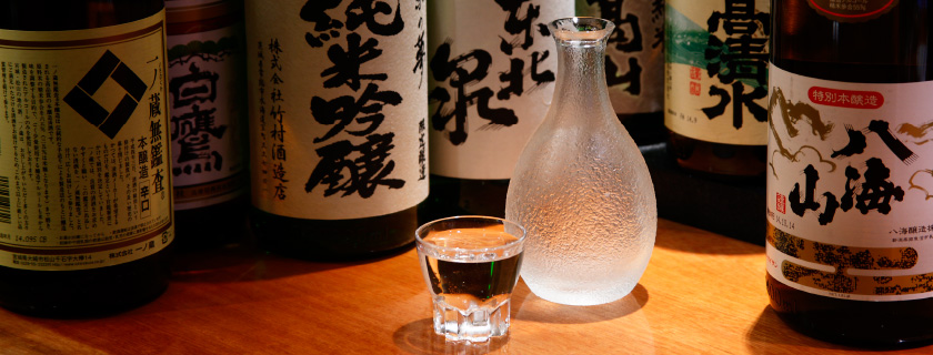 "High-quality Japanese ""Meishu"" Sake"
